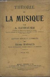 Theorie De La Musique. - Couverture - Format classique