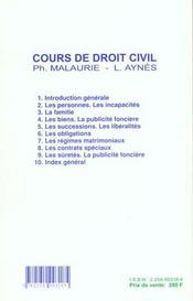 Droit Civil T.8 ; Les Contrats Speciaux ; 13e Edition - 4ème de couverture - Format classique
