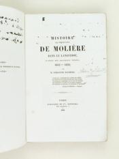 Histoire des pérégrinations de Molière dans le Languedoc, d'après des documents inédits 1642-1658 [ Edition originale ] - Couverture - Format classique