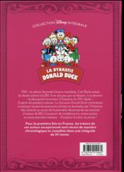 La dynastie Donald Duck ; INTEGRALE VOL.19 ; 1942-1944 ; l'anneau de la momie et autres histoires - 4ème de couverture - Format classique