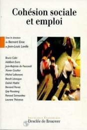 Cohésion sociale et emploi - Couverture - Format classique