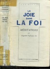 La Joie Dans La Foi - Couverture - Format classique