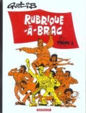 Rubrique-a-brac - tome 3 - rubrique-a-brac - tome 3 - Couverture - Format classique