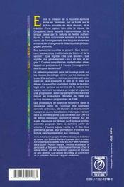 La Didactique Des Langues Anciennes - 4ème de couverture - Format classique
