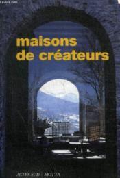 Maisons De Createurs - Couverture - Format classique