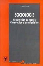 Sociologie - Couverture - Format classique