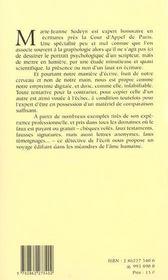 Delits D'Ecrits - 4ème de couverture - Format classique