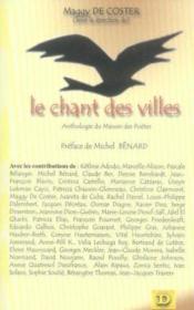 Le chant des villes ; anthologie du manoir des poètes - Couverture - Format classique