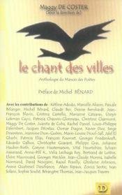 Le chant des villes ; anthologie du manoir des poètes - Intérieur - Format classique
