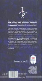 Le Bottin Gourmand 2006 - 4ème de couverture - Format classique
