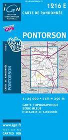 Pontorson - Couverture - Format classique