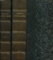 Traite D'Hygiene En 2 Tomes - Couverture - Format classique