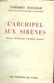 L'Archipel Aux Sirenes - Couverture - Format classique