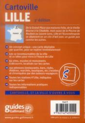 Lile et eurométropole - 4ème de couverture - Format classique