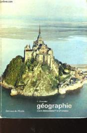 Geographis - Cours Elementaires 1er Et 2° Annee - Couverture - Format classique
