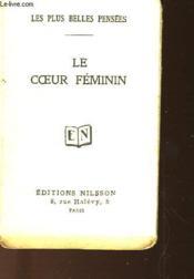 Le Coeur Feminin - Couverture - Format classique