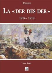 La der des der 1914-1918 - Couverture - Format classique