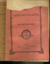 LES CONTEMPORAINS - 29ème SERIE / JOSEPH JOUBERT - Mme DE GENLIS - SYLVAIN BAILLY - THOMAS JEFFERSON - VERDI - PIERRE-MARIE-EDOUARD CAZENOVE DE PRADINE (1838-1896) - GUSTAVE FLAUBERT - JAMES MONROE - MGR PETITJEAN ET LA NOUVELLE EGLISE DU JAPON... - Couverture - Format classique