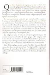 L'art d'être français - 4ème de couverture - Format classique