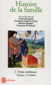 Histoire De La Famille Tome 2 - Couverture - Format classique