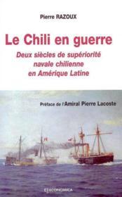 Le chili en guerre - Couverture - Format classique