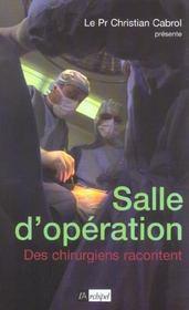 Salle d'operation - Intérieur - Format classique