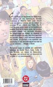 Smallville T.1 - 4ème de couverture - Format classique