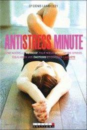 Antistress minute - Couverture - Format classique
