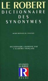 Le Dictionnaire Des Synonymes - Intérieur - Format classique