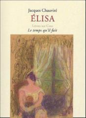 Elisa - Couverture - Format classique