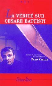 La Verite Sur Cesare Battisti - Intérieur - Format classique
