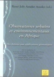 Observatoires urbains et environnementaux en afrique - Intérieur - Format classique