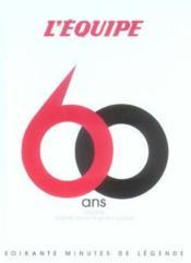 60 ans de l'equipe - Couverture - Format classique