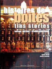 Histoires de boites / tins stories - Couverture - Format classique