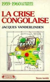 Crise congolaise - Couverture - Format classique