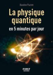 La physique quantique en 5 minutes par jour - Couverture - Format classique