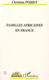 Familles africaines en France - Intérieur - Format classique