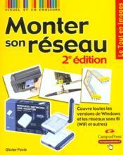 Monter Son Reseau - Couverture - Format classique
