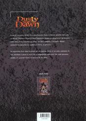 Dusty dawn t.2 ; l'heritage malefique 2eme part - 4ème de couverture - Format classique