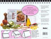 L'art de la cuisine - 4ème de couverture - Format classique