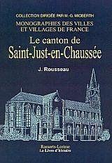 Saint-Just-En-Chaussee Et Ses Environs - Couverture - Format classique
