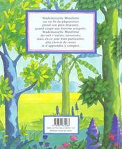 Mademoiselle Mouflette Apprend A Compter - 4ème de couverture - Format classique