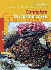 Connaitre la cuisine corse - Couverture - Format classique