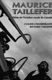 Maurice Taillefer ; Pilote De L'Aviation Royale Du Canada - Intérieur - Format classique