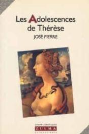 Les Adolescences De Therese - Couverture - Format classique