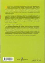 Mise en page et impression ; notions élémentaires - 4ème de couverture - Format classique