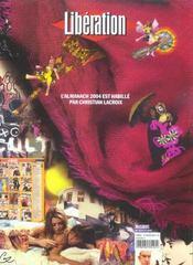 Liberation, Almanach 2004 ; 30 Ans De Revolutions Culturelles - 4ème de couverture - Format classique