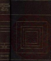 Histoire littéraire de la france tome 7: 1794 -1830 - Couverture - Format classique