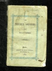 Les Precieux Souvenirs Bapteme, Premiere Communion, Confirmation. - Couverture - Format classique