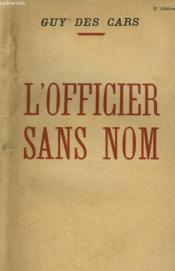 L'Officier Sans Nom. - Couverture - Format classique